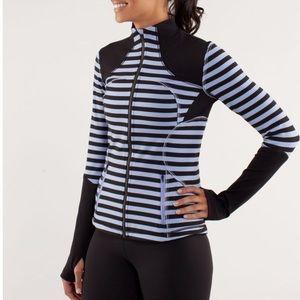 Lululemon Striped Define Jacket/Long Sleeve 6